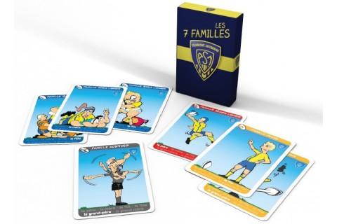 Le jeu des 7 familles à l'effigie des joueurs du célèbre club de rugby l'ASM.