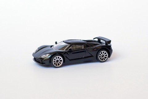 Véhicule Miniature - Racing Car - Akylone Voiture Noir