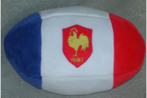 Plushball Bleu Blanc Rouge rugby