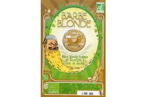 Bière Barbe Blonde 75cl