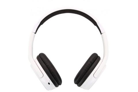 Beewi - Casque Stéréo Bluetooth Blanc