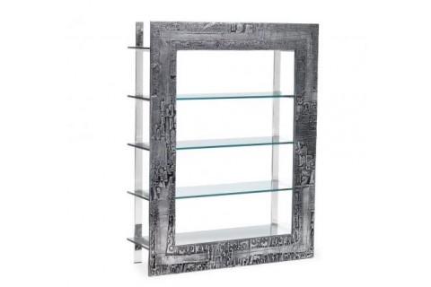 Étagère plateau verre trempé transparent 180x140