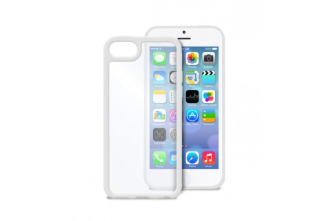 PURO - Coque transparente iPhone 5C -  Blanc