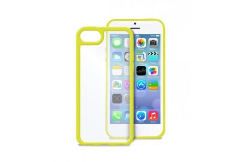 PURO - Coque transparente iPhone 5C -  Jaune