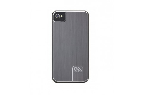 Case-Mate - Coque de protection en aluminium pour iPhone 4/4S Argent