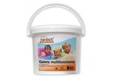 CHLORE MULTIFONCTIONS GALETS