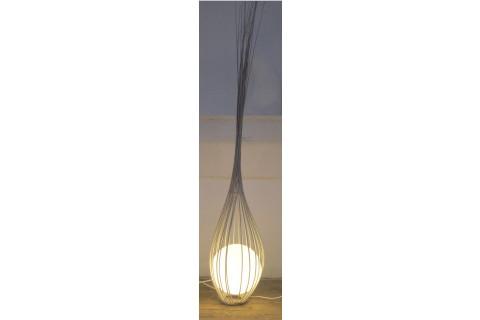 Luminaire : La goutte blanc cassé 170 cm