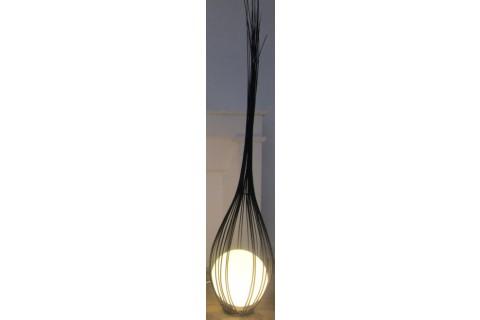 Luminaire : La goutte Gris 170 cm