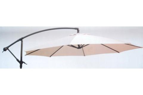 Parasol déporté Ecru