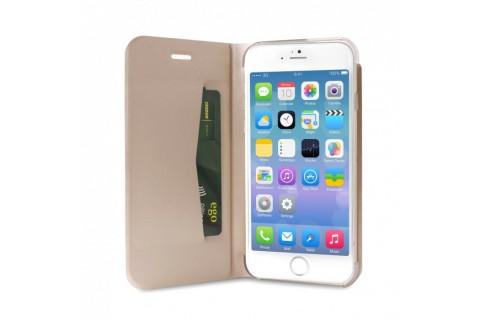 Puro - Étui folio pour iPhone 6+/6S+ - Eco Leather avec Stand - Or