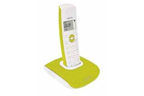 Logicom - Téléphone Fixe sans fil - Nova 350 Vert