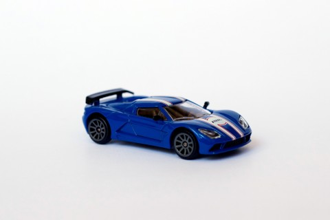 Véhicule Miniature - Racing Car - Akylone Voiture Bleue