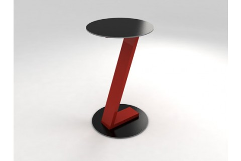 table zeta rouge
