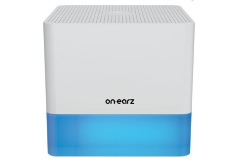 Enceinte Bluetooth MoodLight Blanche - ON-EARZ