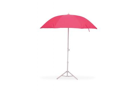 Parasol de Plage Ø160 cm - Télescopique Anti-UV - Fushia