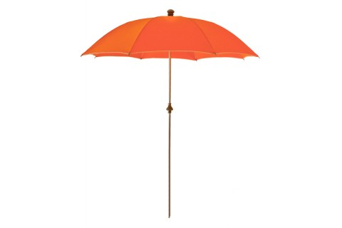 parasol de plage anti uv et s curis orange. Black Bedroom Furniture Sets. Home Design Ideas