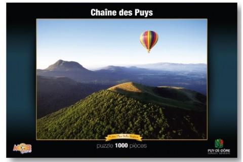 Puzzle Chaîne des Puys 1000 pièces