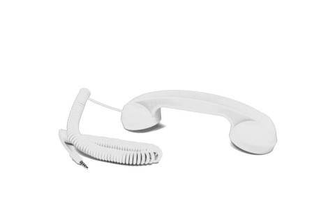 Combiné - Retrophone - Blanc