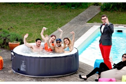 spa jacuzzi gonflable 6 places