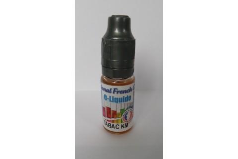 Liquide cigarette électronique - Tabac KM - 10 mg