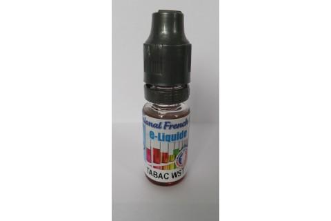 Liquide cigarette électronique - Tabac WST - 10 mg