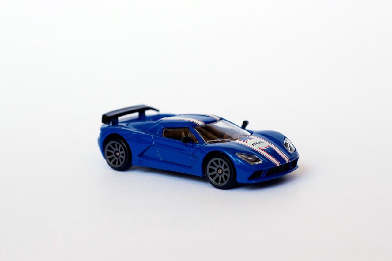 v hicule miniature racing car akylone voiture bleue. Black Bedroom Furniture Sets. Home Design Ideas