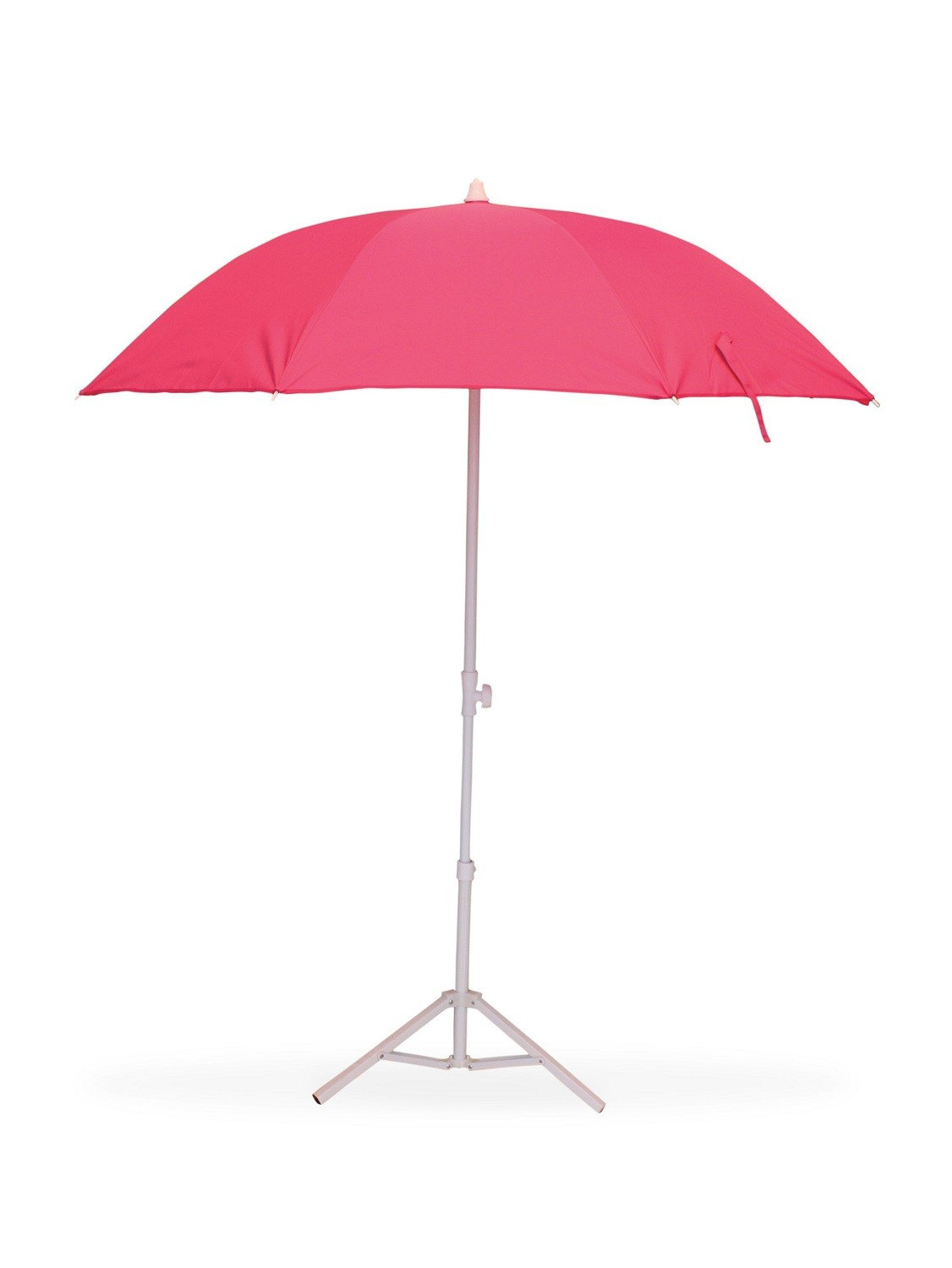 parasol de plage t lescopique anti uv diam tre 160 cm fushia. Black Bedroom Furniture Sets. Home Design Ideas