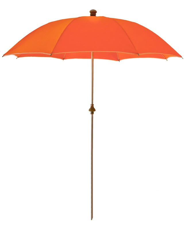 parasol de plage anti uv et s curis orange. Black Bedroom Furniture Sets. Home Design Ideas