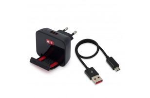 Swiss Charger - Chargeur Secteur 4A Dock 30 pin Apple 2 avec support intégré