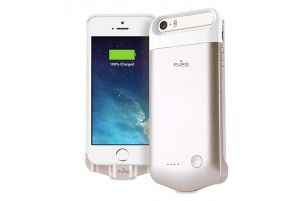 PURO GOLD - Coque Batterie Powerbank pour iPhone 5/5s/SE 2200mAh