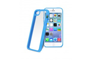 PURO - Coque transparente iPhone 5C -  Bleu