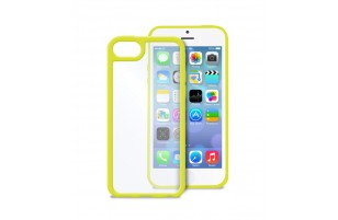PURO - Coque transparente iPhone 5C -  Jaune
