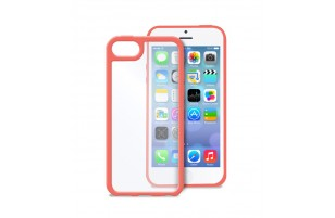 PURO - Coque transparente iPhone 5C -  Rose