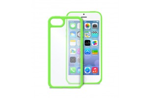 PURO - Coque transparente iPhone 5C -  Vert