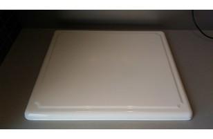 Plaque de protection pour plaque vitrocéramique - Blanc