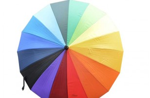 Grand parapluie - Multicolore