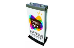 Distributeur de sacs parapluie publicitaire UPM-01 Distribagmédia®