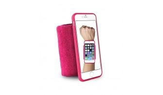 """PURO - Bandeau de poignet en éponge - Running  iPhone 6 - 4.7"""" - Rose"""
