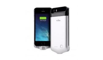 PURO GREY - Coque Batterie Powerbank pour iPhone 5/5s/SE 2200mAh
