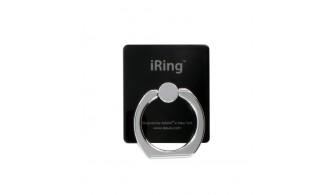 iRing Masstige - Anneau de prise en main smartphone et tablette - Noir