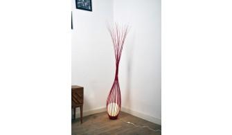 Luminaire : La goutte Rouge 200 cm