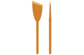 IDEO - Spatule Silicone 30cm - Orange