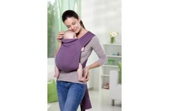 Porte bébé Mei Tai Blueberry-1