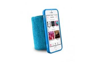 PURO - Bandeau de poignet en éponge - Running  iPhone 5/5s - Bleu
