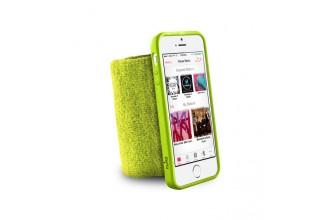 PURO - Bandeau de poignet en éponge - Running  iPhone 5/5s - Vert