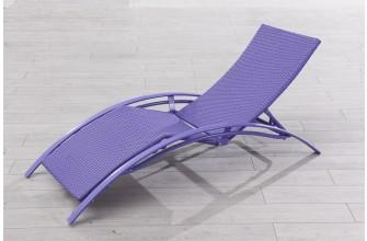 Chaise longue fushia