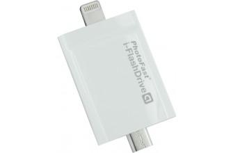 PhotofastDrive 16Go Lightning/MicroUSB + Adaptateur