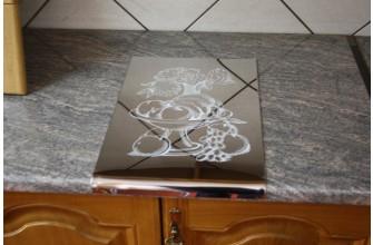 Plaque extension plan de travail de cuisine