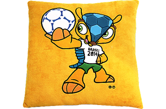 Coussin football Cup Fuleco 2014