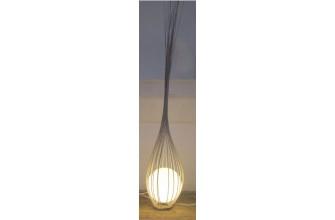 Luminaire : La goutte Blanc cassé 200 cm